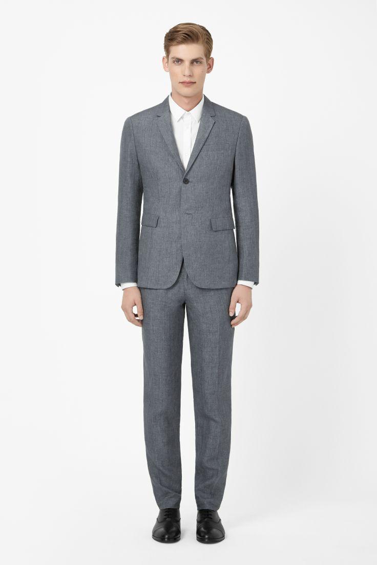 Slim linen blazer. COS. $250.