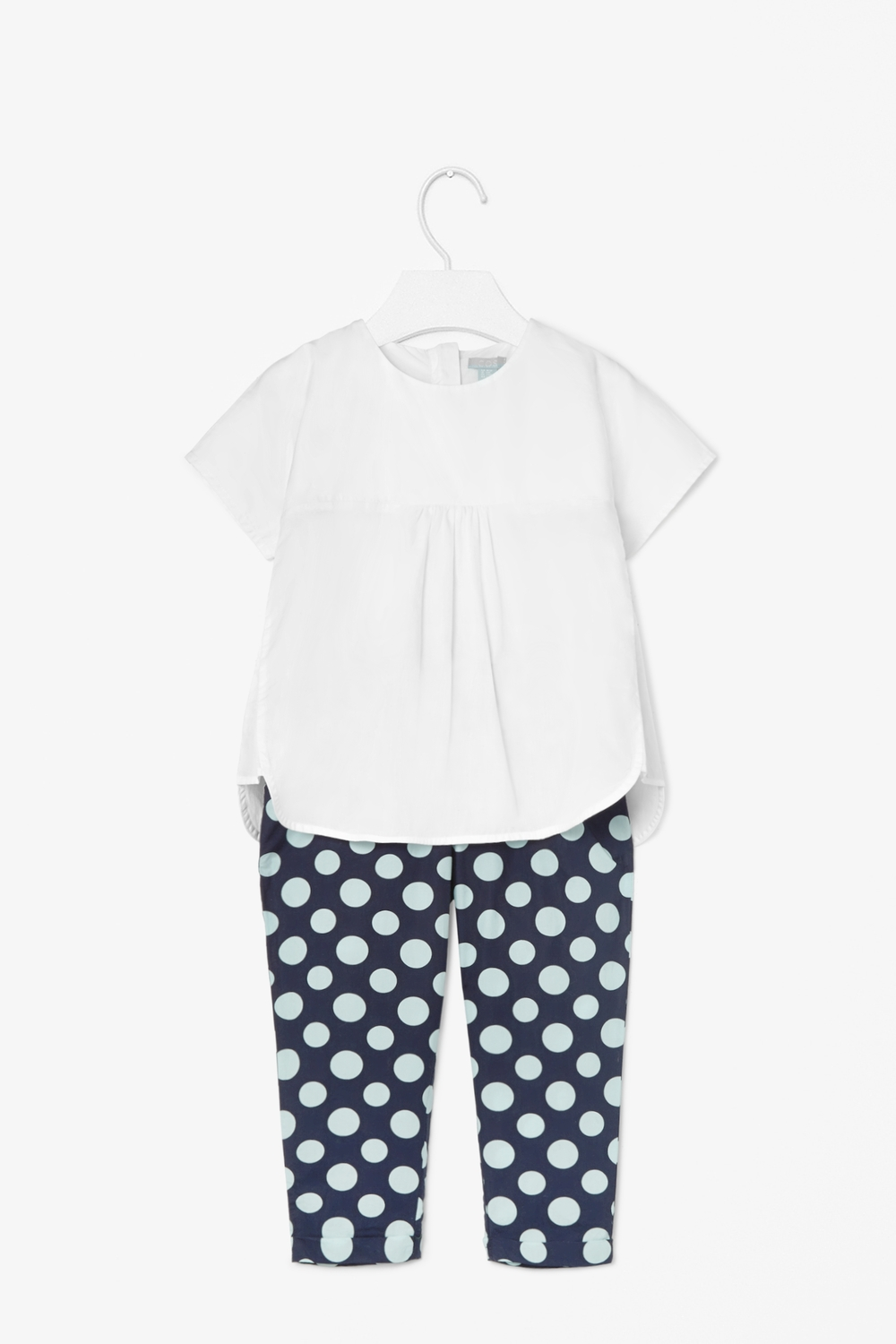Cotton poplin top. 1-8 years. COS. $35