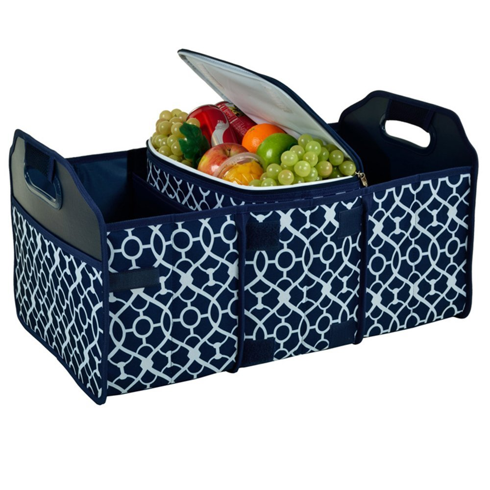Picnic at Ascot Trunk organizer and cooler set. Amazon. $54.95.