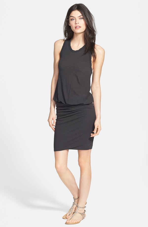 James Perse Racerback blouson dress. Nordstrom. $175.