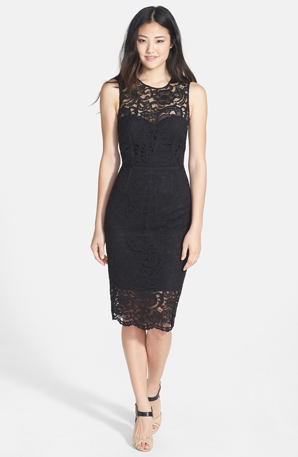 Vince Camuto lace sheath dress. Nordstrom. $188.
