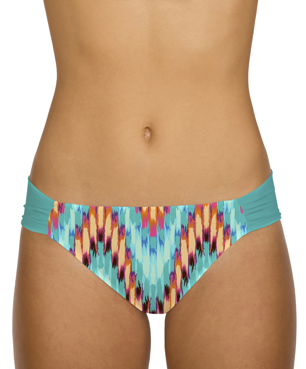 Sunsets swimwear tidal wave 20B side shirred pant. Best Swimwear. $50.