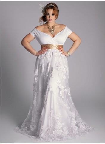Eugenia Vintage Wedding Gown. Igigi. $570.