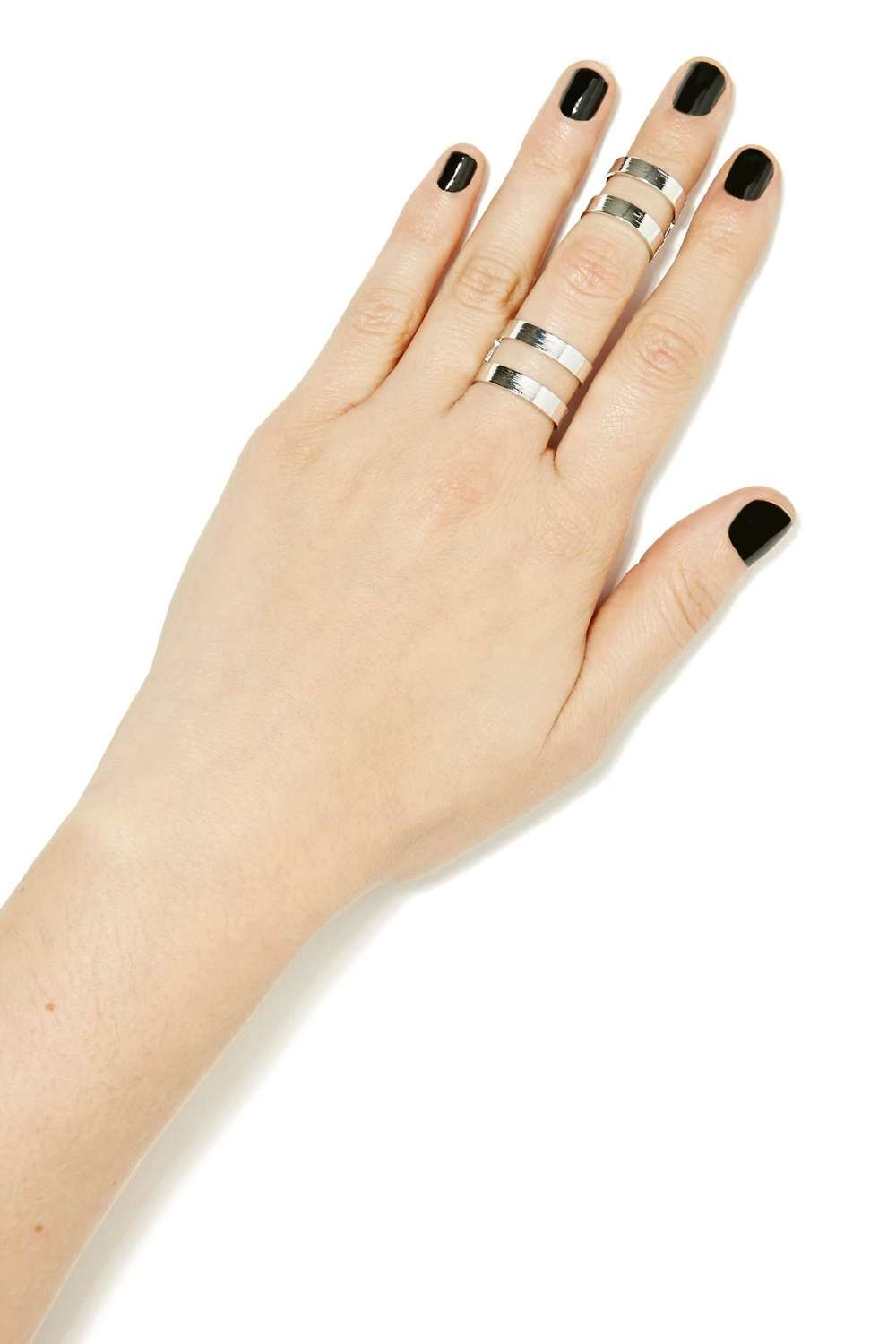 Double This Ring Set. Nasty Gal. $15.