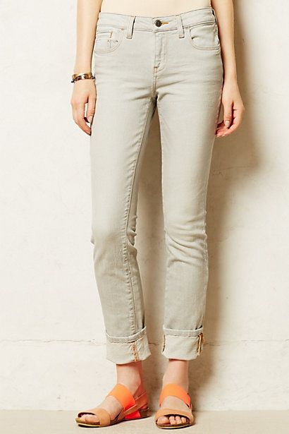 Pilcro stet cuffed jeans. Anthropologie. $118.