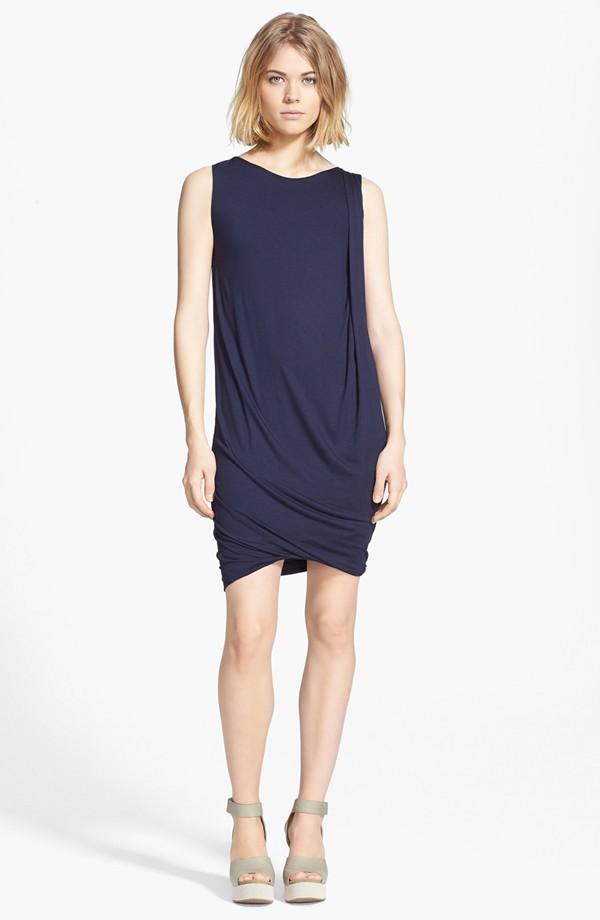 Vince drape shift dress. Nordstrom. $175.