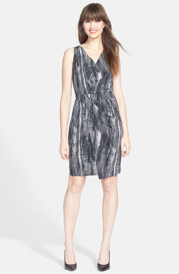 T Tahari Lynlee faux wrap dress. Nordstrom. $118.