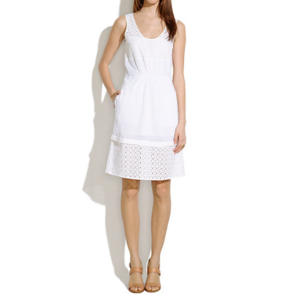 Eyelet Lovesong Dress. Madewell. $98.