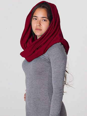 The Unisex Circle Scarf. Available in endless colors. American Apparel. $28. A go-to all  year long.