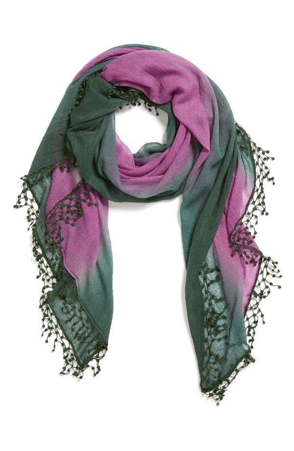 La Fiorentina Ombre cashmere scarf. Nordstrom. Was: $148 Now: $99.16.