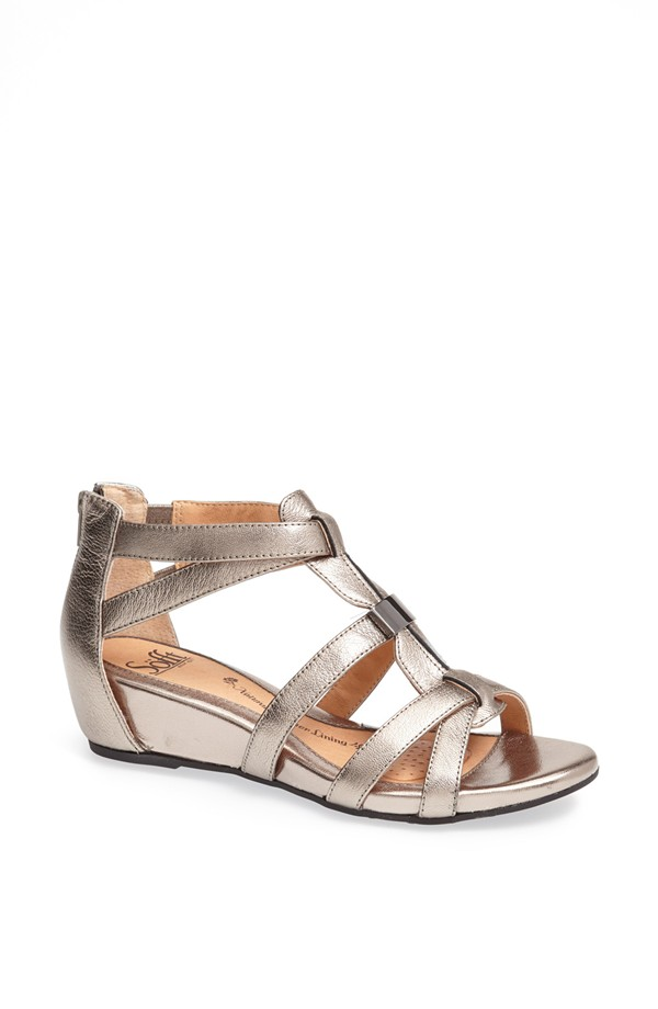 Sofft Bernia sandal. Nordstrom. $99.95. I have these. Super comfortable.
