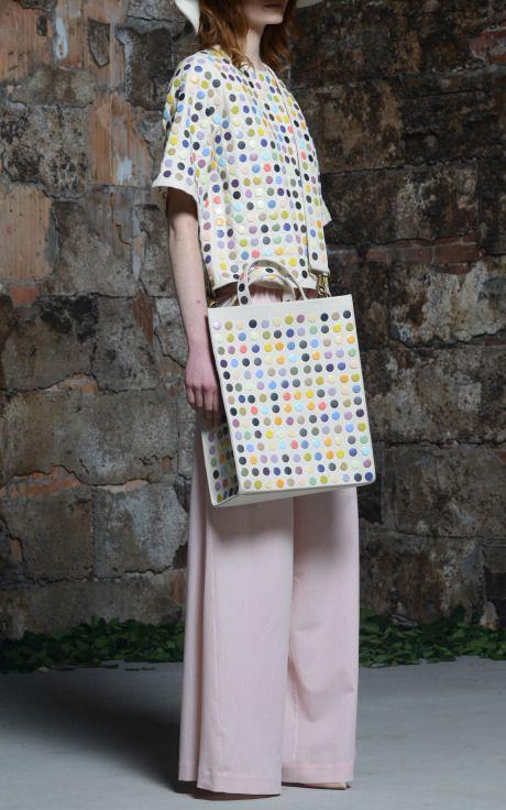 Embellished Snap Hemp Tee by Rosie Assoulin. Moda Operandi. $1,998.