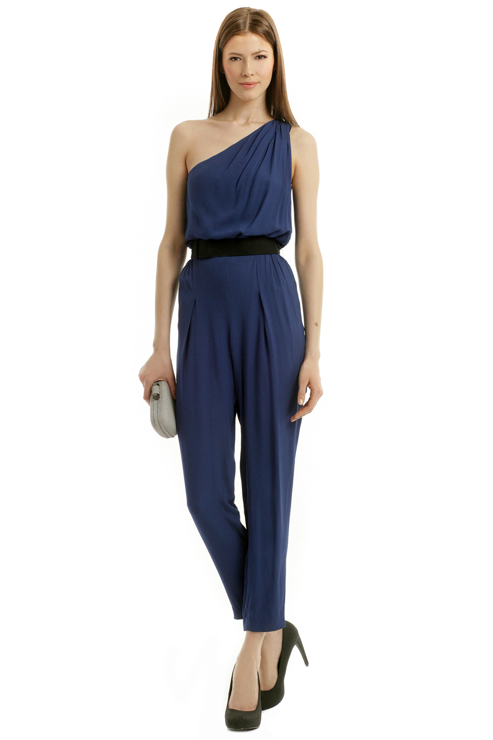 Jet Set Jumpsuit by Halston Heritage. Rent the Runway. $75 rental.