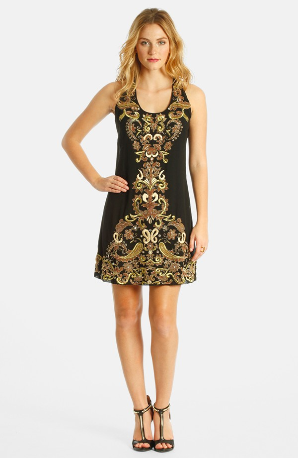 LABEL by five twelve embroidered sheath dress. Nordstrom. $150.
