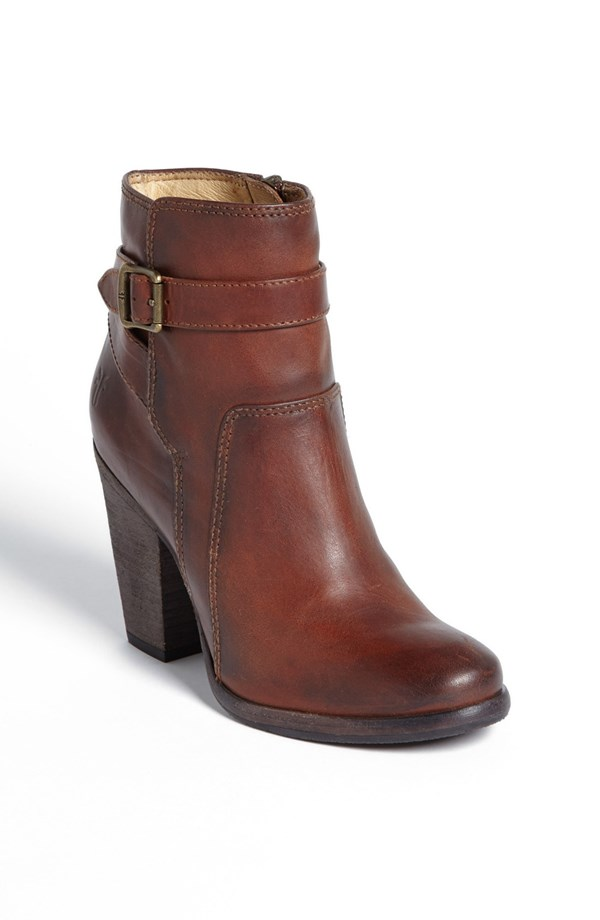 Frye Patty leather riding bootie. Nordstrom. Was: $327.95 Anniversary Sale price: $218.90.
