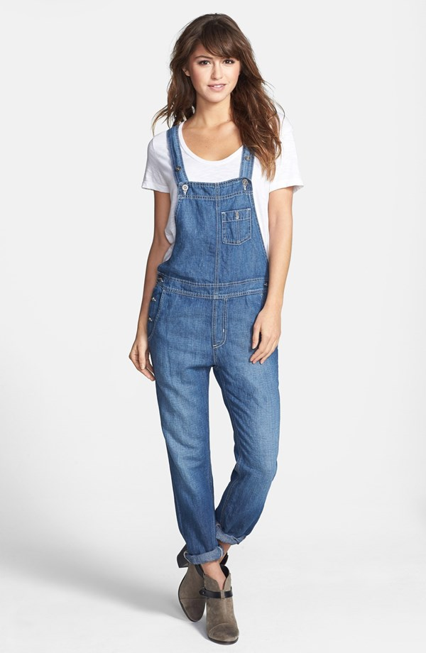 Big Star Heather denim overalls. Available in regular and petite. Nordstrom. Was: $118 Now: $44.97.