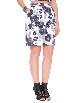 Studio African Violet Skirt. Eloquii. $68.00