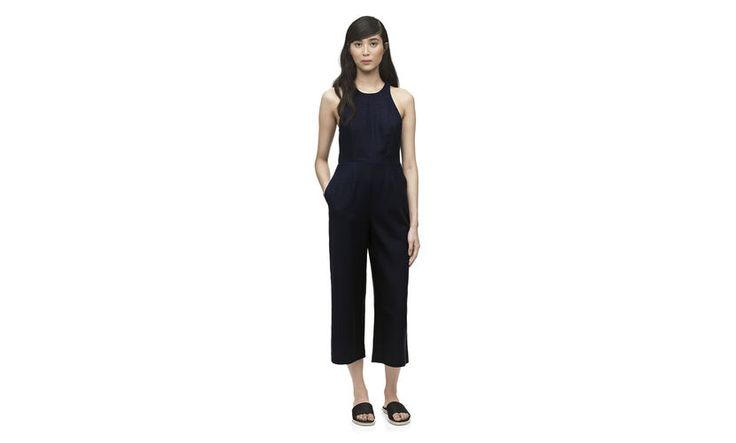 Bex wide leg jumpsuit. Whistles. $300.