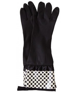 Jessie Steele deco dot rubber gloves. Available in multiple colors and patterns. Amazon. $11.