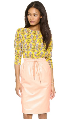 Shopbop Roseanna Chase Floral Top. $395