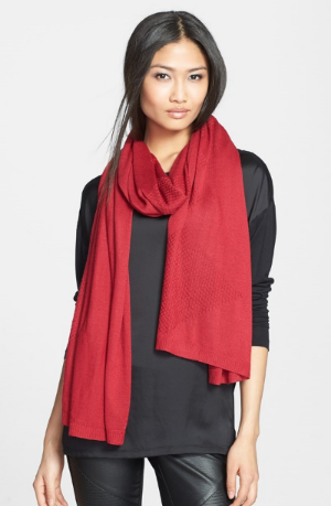 Nordstrom Halogen Diamond Stitch Scarf. $48