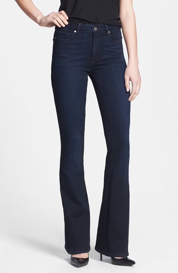 Paige Denim Canyon High Rise Bell Bottom Jeans. Nordstrom. $189. (They run large. Perhaps a 29?)