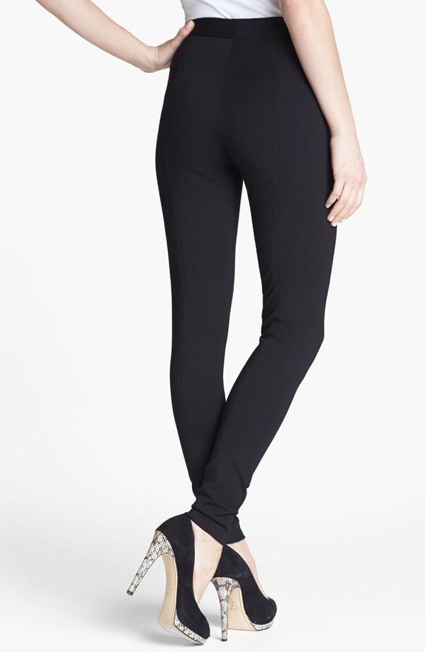 Two by Vince Camuto Seamed Back Leggings. Available in black, dark heather grey, espresso. Nordstrom. $49.