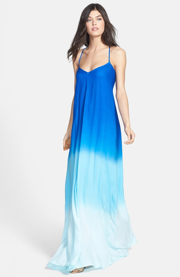 Young, Fabulous and Broke Fortune Ombre Maxi Dress. Nordstrom. $233.
