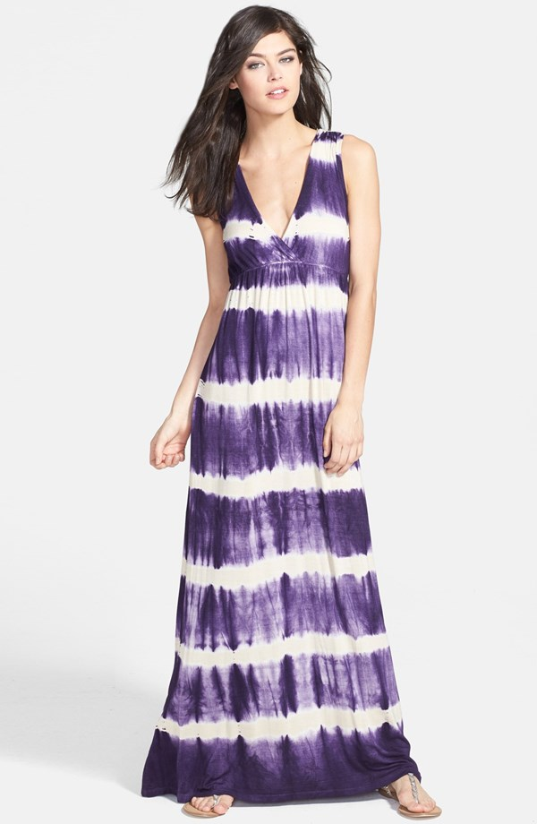 Gypsy 05 Tie Dye Open Back Maxi Dress. Nordstrom. $198.