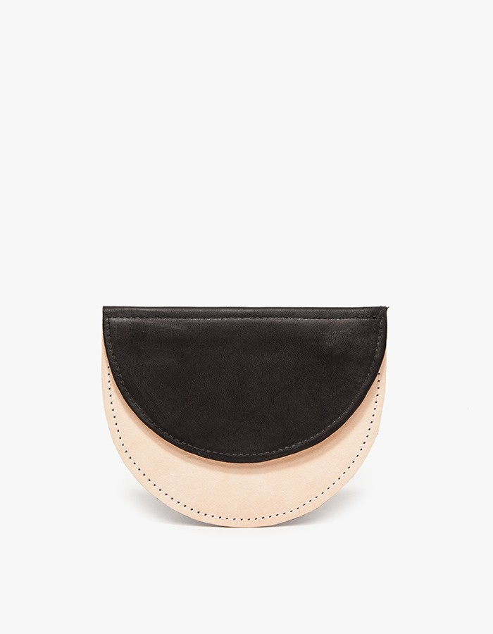 Contrast Leather Wallet. Need Supply. Was: $78 Now: $58.