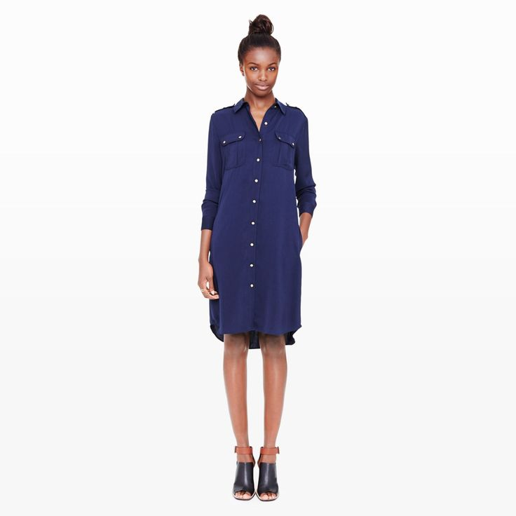 Hye Shirt Dress. Club Monaco. $198.50.