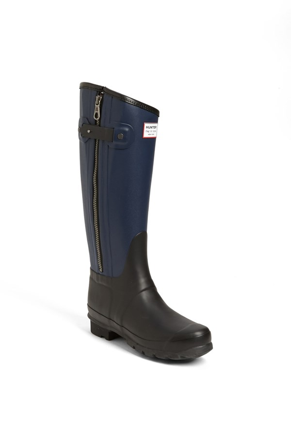Hunter for Rag & Bone Tall Boots. Available in Black/navy, black, dark red. Nordstrom. $295.