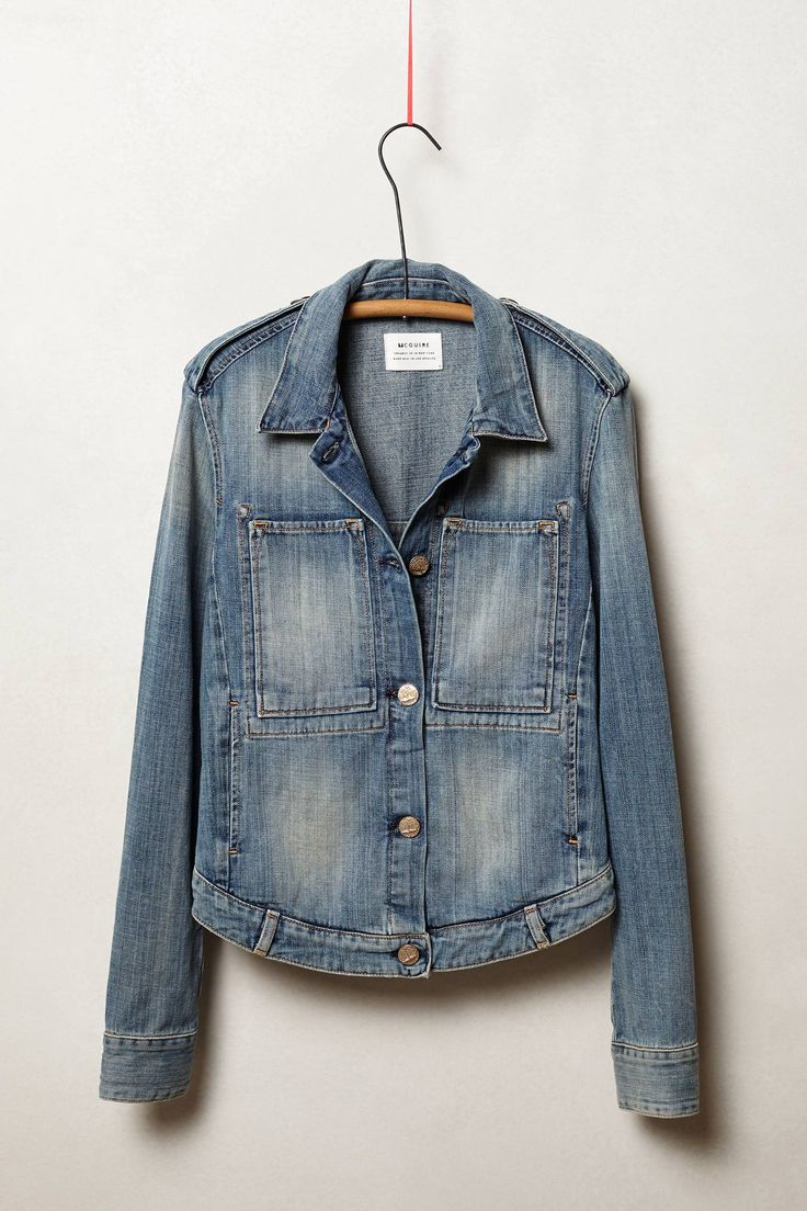 McGuire Workwear Denim Jacket. Anthropologie. $286.