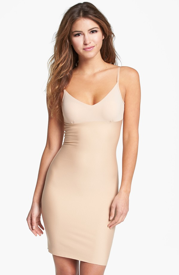 Commando Two Faced Tech Control Slip. Available in nude, black. Nordstrom. $98.