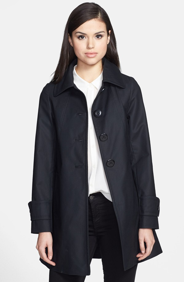Trina Turk Madelyn A Line Coat. Nordstrom. Was: $378 Now: $226.