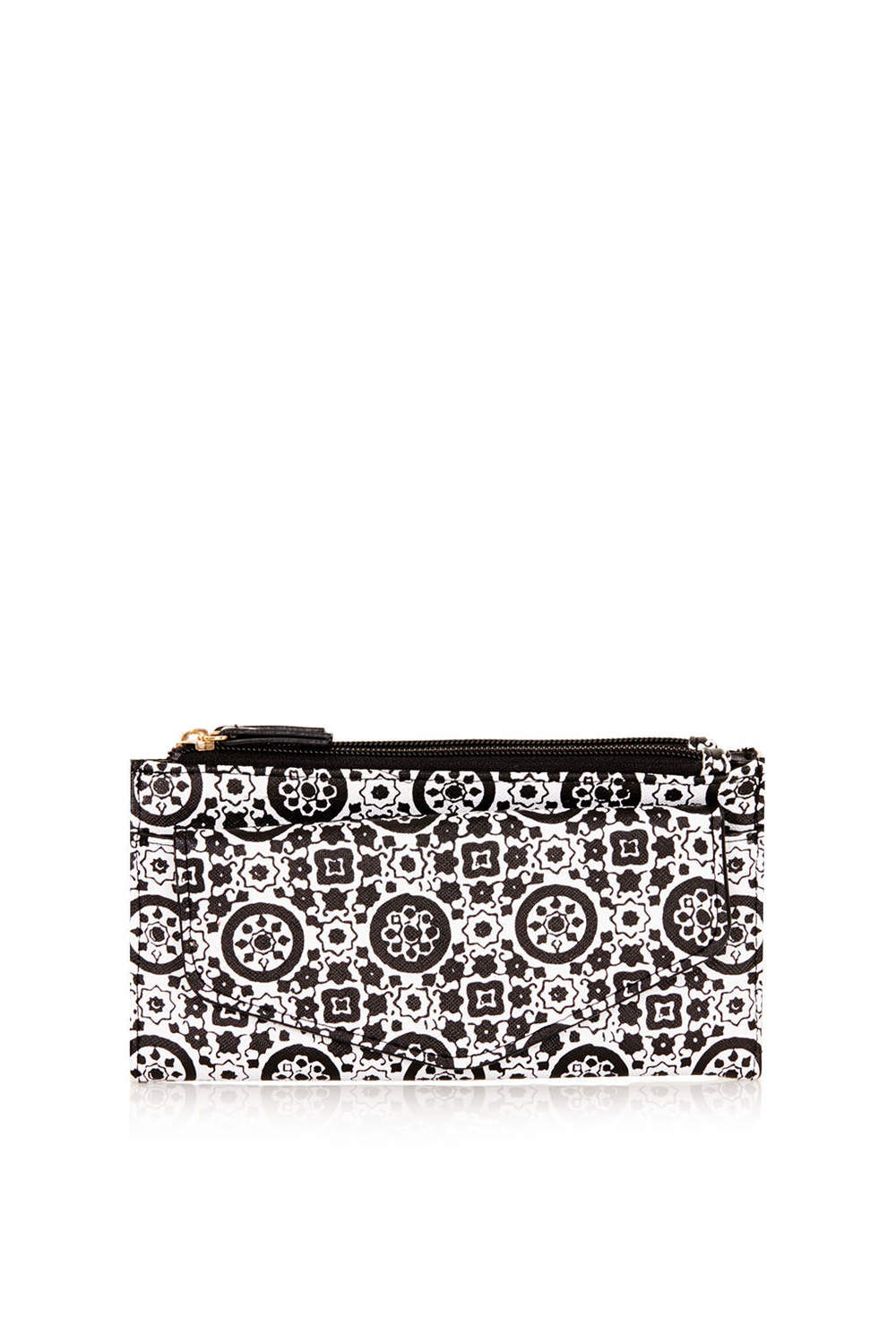 Topshop Monochrome Tile Print Purse. Topshop USA. $32.