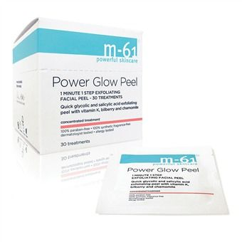 M-61 Power Glow Peel. Available in multiple sizes. Bluemercury. $28/ 10 treatments.