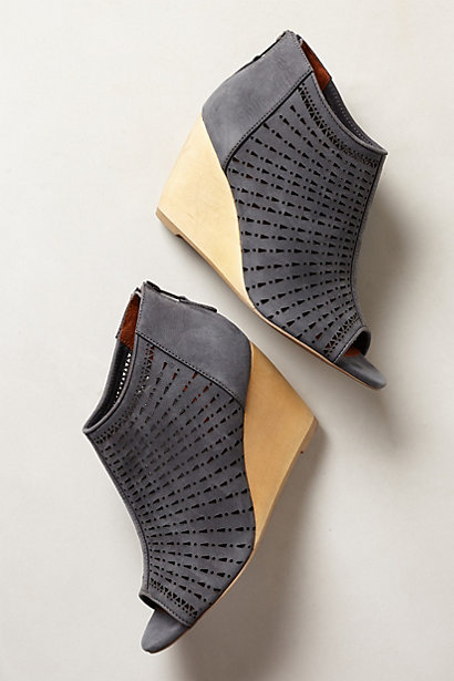 Maricopa Wedges. Available in wine, grey. Anthropologie. Was: $168 Now: $134.