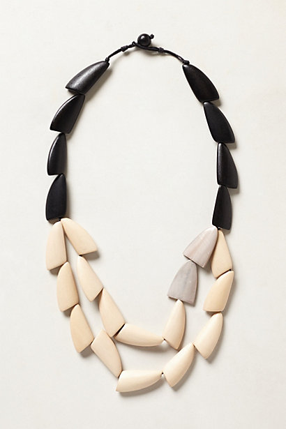 Beaded Achroma Necklace. Anthropologie. $64.