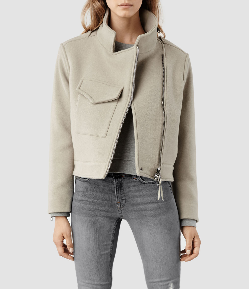 Suki Cropped M65 Jacket. All Saints. $540.
