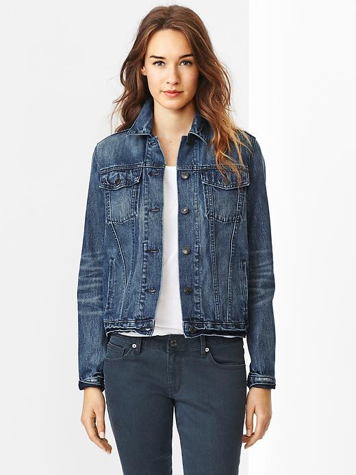 Gap 1969 Denim Jacket. Available in dark brig. The Gap. $69.95. All items 40% off until 9/1/14 with code: DAY.