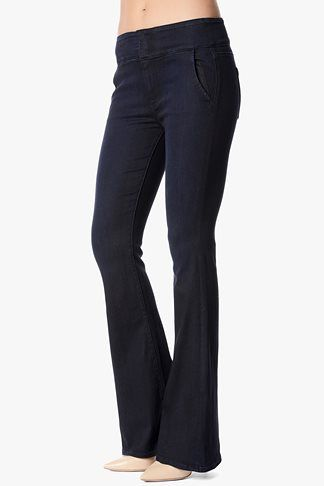 7 For All Mankind Fashion High Waist Wide Leg Trouser in Lilah Blue Black. Seven For All Mankind. $225.