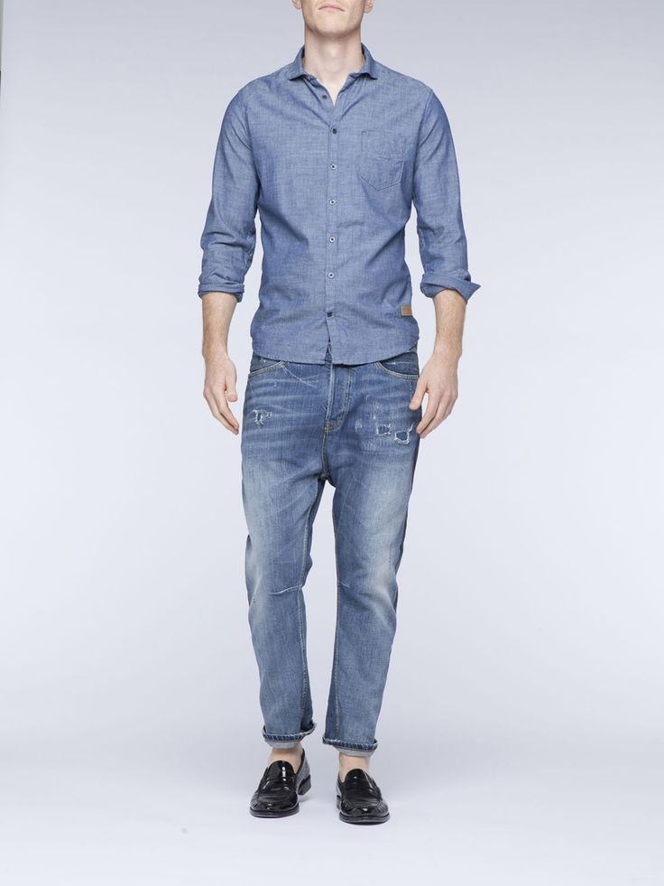 Clean Indigo Shirt. Scotch & Soda. $149.