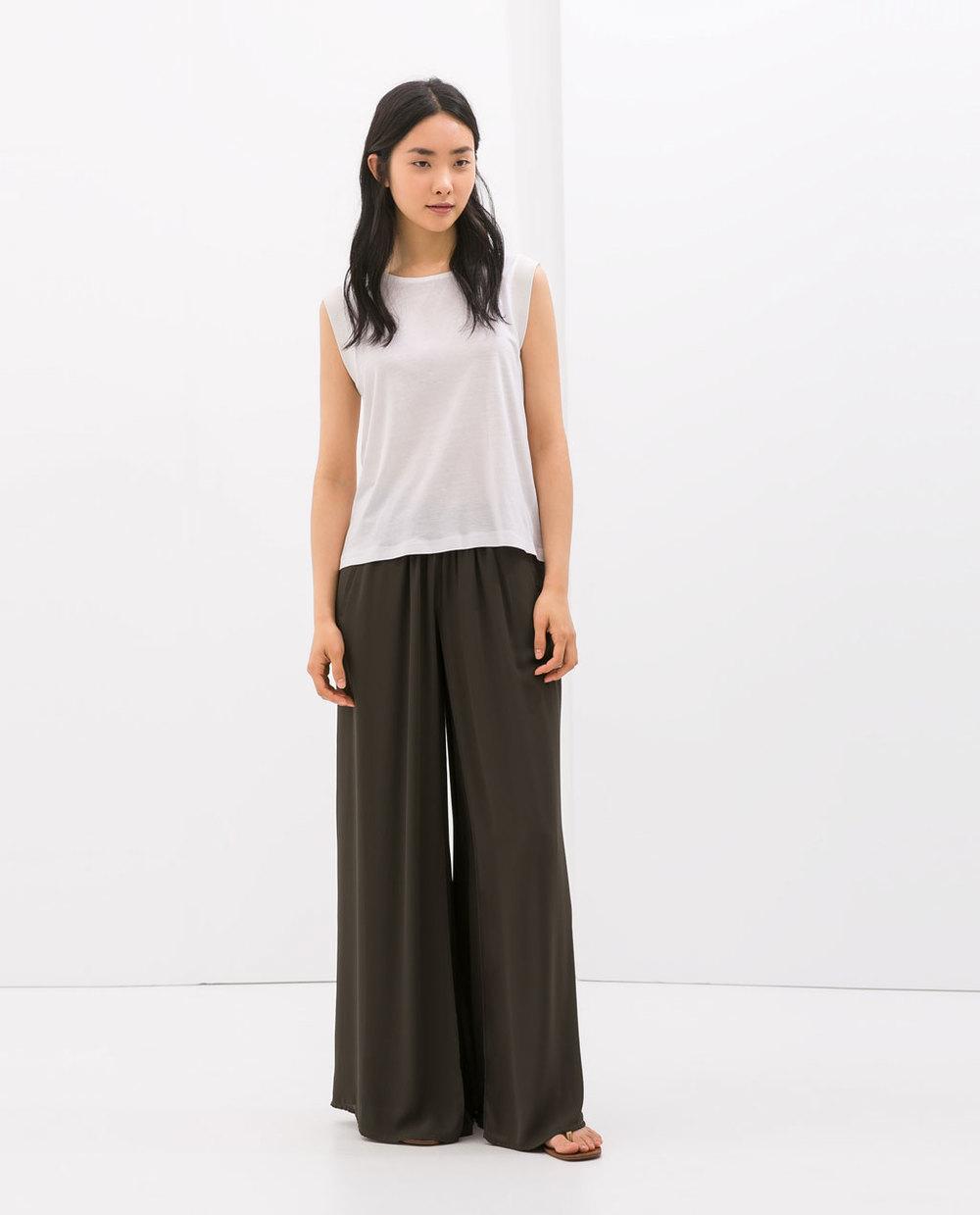 Layered Palazzo Trouser. Zara.com. $25.90