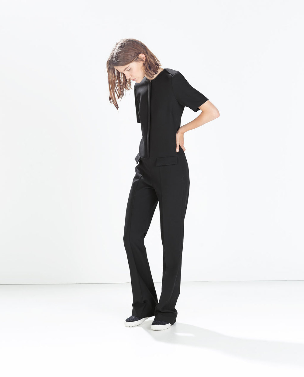 .Fitted Jumpsuit with Flap Pockets. Zara. $149.00