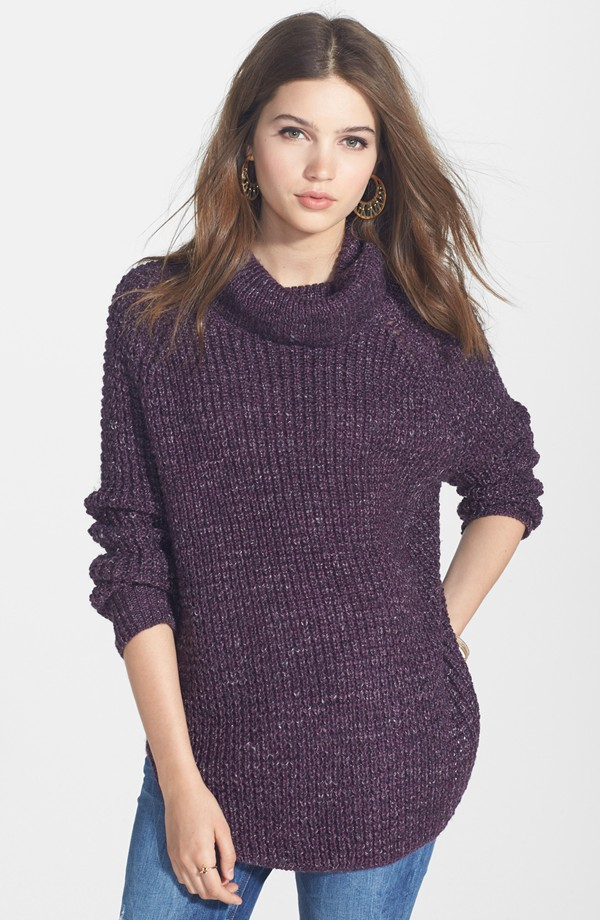 Free People Turtleneck Pullover. Nordstrom. $128.00