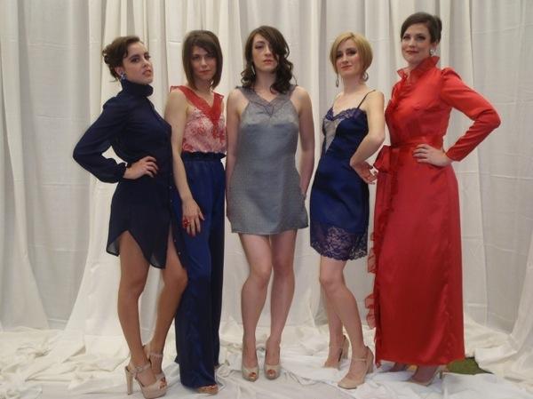 New York Fashion Academy Fashion Show 2012. Designer: Megan Locatelli.