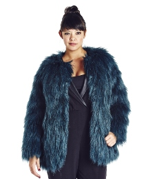 Faux Fur Jacket. Simplybe.com. $130.00
