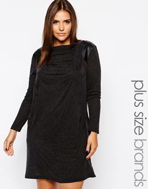 Long Sleeve Jersey Panel Dress. Carmakoma. $203.76