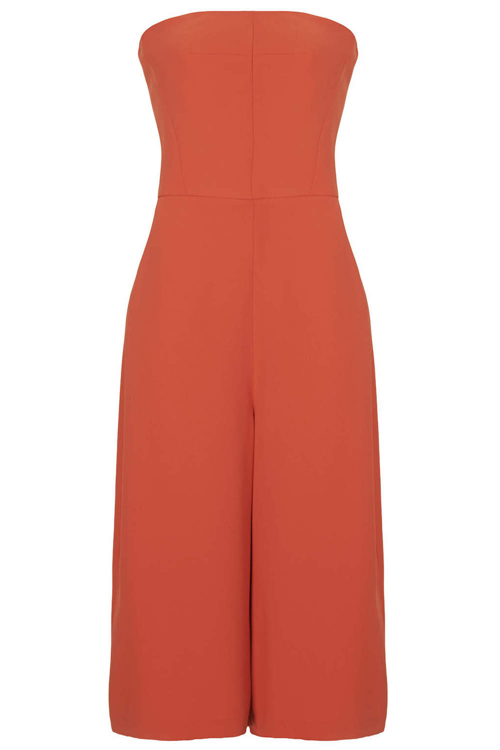 (Triangle) Personal obsession: Culottes and a jumpsuit. Oh my! Minimal Culotte Jumpsuit. TopShop USA. $120.